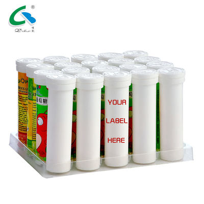 China Anti Fatigue Effervescent Vitamin Tablets Electrolyte Drink Tablets Orange Flavour supplier