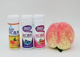 China Dietary Supplements Vitamin C Chewable Tablets 1000 Mg With Different Fruit Flavour supplier